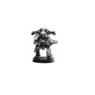 Chaos Space Marine Death Guard with Meltagun 1997