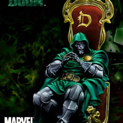 Dr.Doom on Throne 70mm (Limited Edition)