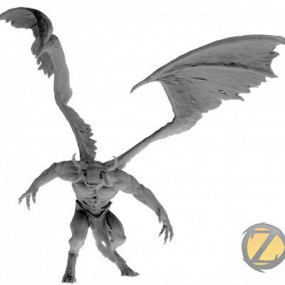 Faceless Great Demon (Zealot Miniatures)