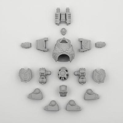 Emperors Children Contemptor Dreadnout (body)