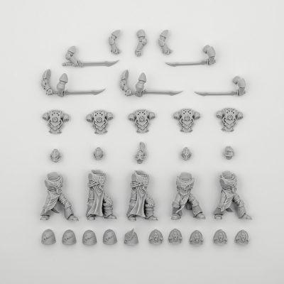 Emperors Children Legion Palatine Squad