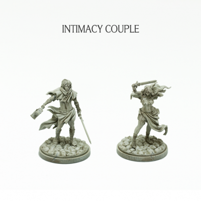 Intimacy Couple (Kingdom Death Monster 1.5)