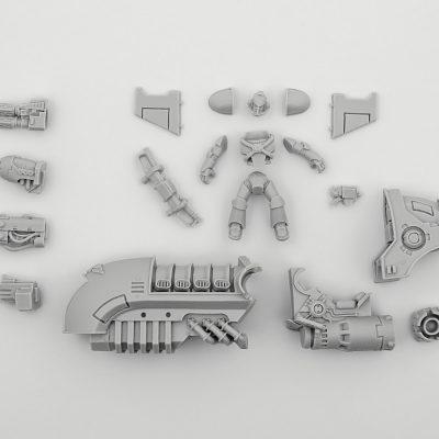 Legion Scimitar Pattern Jetbike