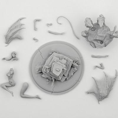 Succubus (Limbo Miniatures)