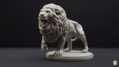 White Lion (Kingdom Death Monster 1.5)