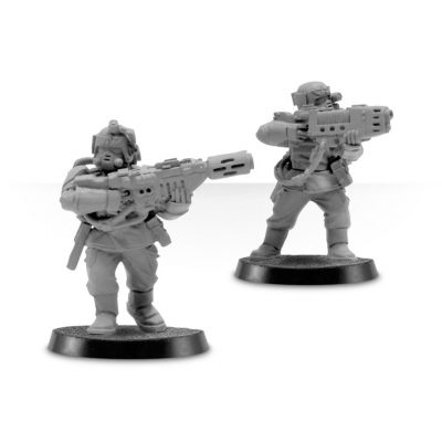 Cadian Special Weapons with Respirators