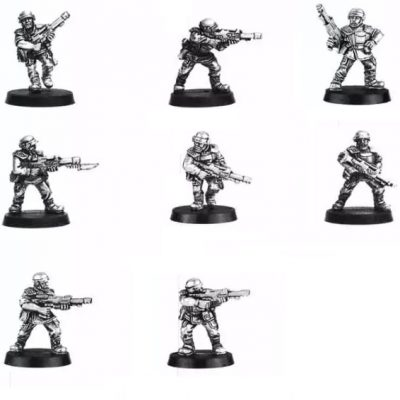 Classic Cadian Shock Troopers