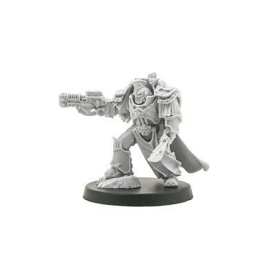 Alpha Legion Praetor in Cataphractii Terminator Armour