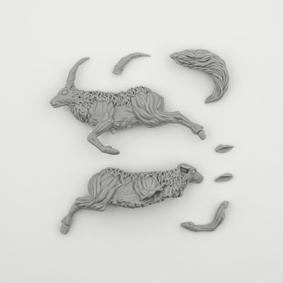 Screaming Antelope (Kingdom Death Monster 1.5)