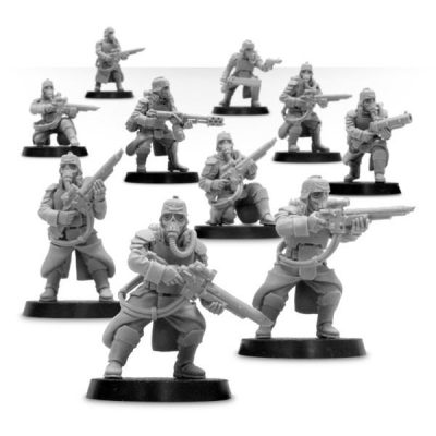 Death Korps of Krieg Grenadier Squad