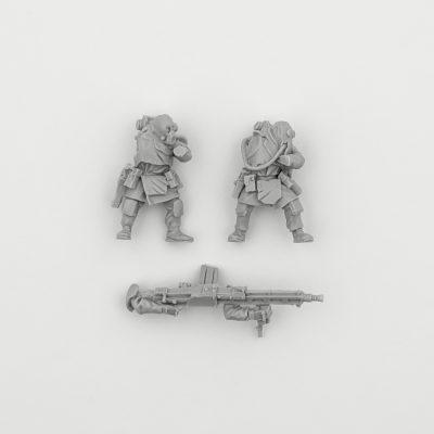 Renegade Milita Heavy Stubber Team