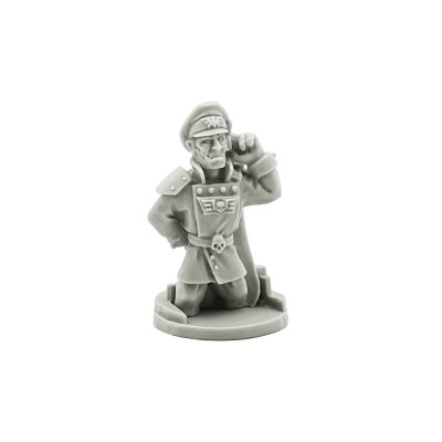 Imperial Guard Tank Commander Pask
