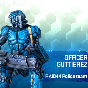 RAID44 Officer Guttierez