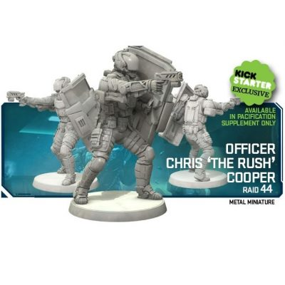 RAID44 Officier Chris 'The Rush' Cooper (Kickstarter Exclusives)