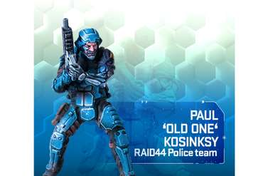 RAID44 Paul 'Old One' Kosinsky