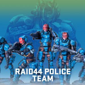 RAID44 Police Team