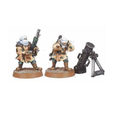 Tallarn Desert Raiders Mortar Team