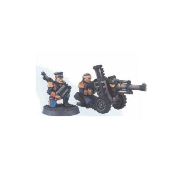 Mordian Iron Guard Autocannon Team