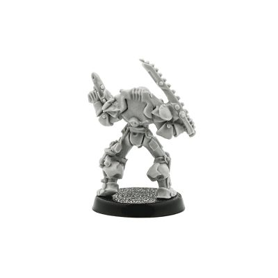 Rogue Trader Inquisitor with Chainsword and Plazma Pistol 1989