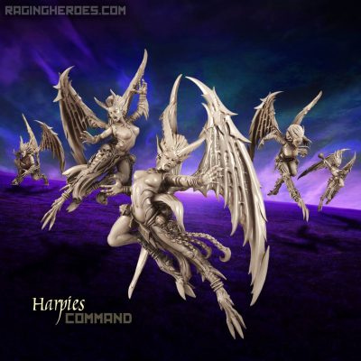 Harpies – Command Group (DE – F)
