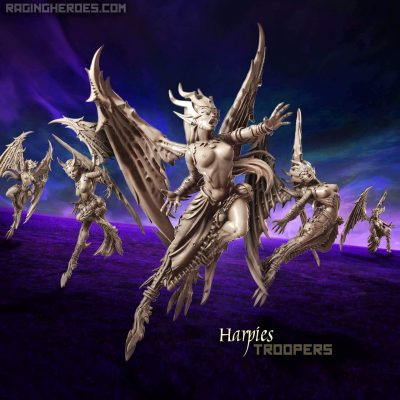 Harpies – Troopers (DE – F)