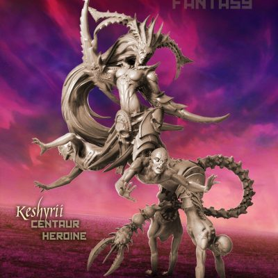 Keshyrii, Centaur Heroine (LE — FANTASY)
