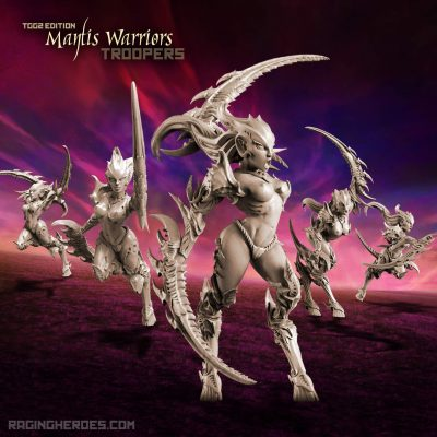 Mantis Warriors — Troops, TGG2 Ed. (LE – F/SF)