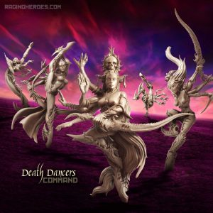 Death Dancers All Stars – Command Group (LE – F/SF)
