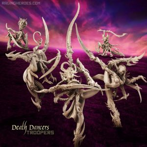 Death Dancers All Stars – TROOPS (LE – F/SF)