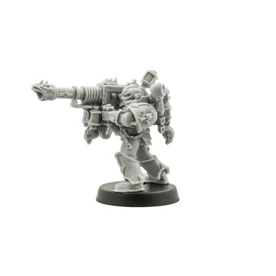 Chaos Space Marine Havoc with Lascannon