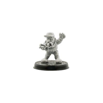 Blood Bowl Dwarf Referee #1