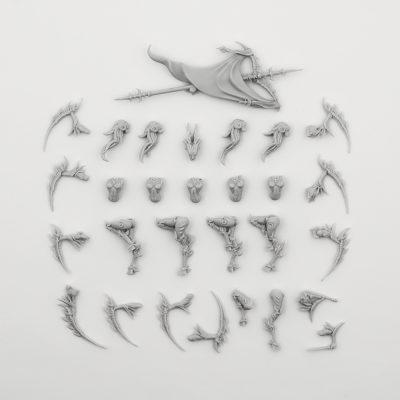 Mantis Warriors – Command Group, TGG2 Ed. (LE – F/SF)