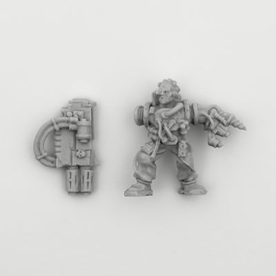 Gun Servitor with Multi-Melta
