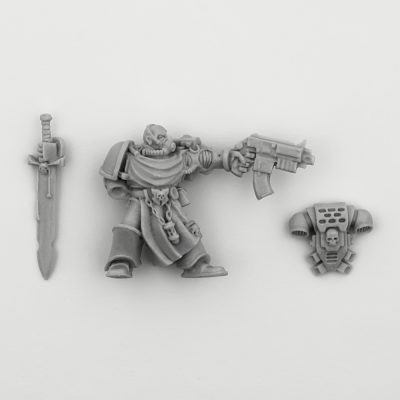 Space Marines Black Templars Captain Draco (Limited Edition 2000)