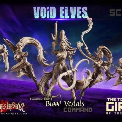 Blood Vestals SF – Command