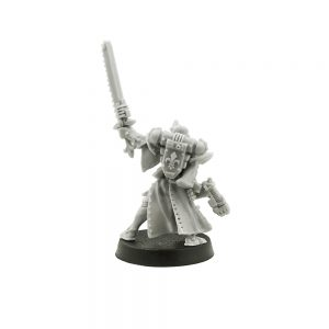 Sister Superior with Chainsword and Plasma Pistol