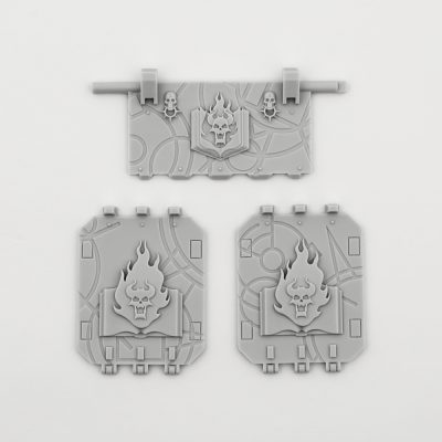 Word Bearers Legion Land Raider Doors