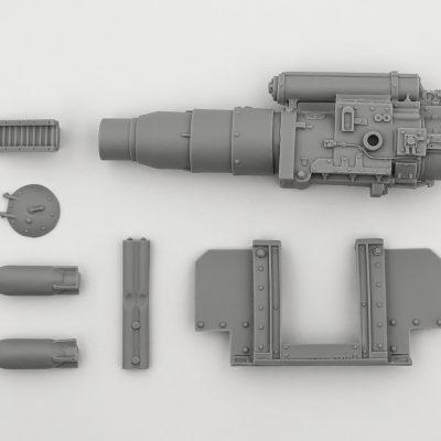 Medusa Self Propelled Heavy Mortar Conversion Kit