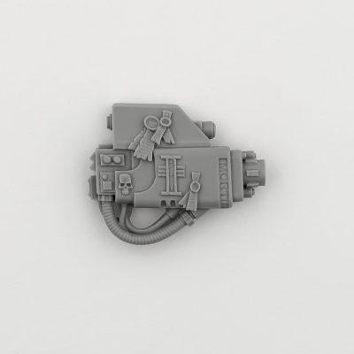 Grey Knight Dreadnought Psycannon (Right Arm)