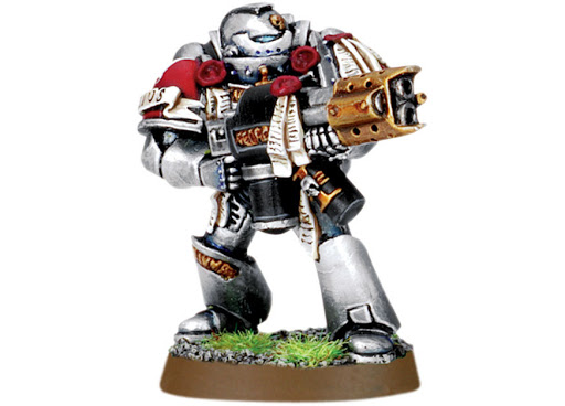 Grey Knight with Incinerator