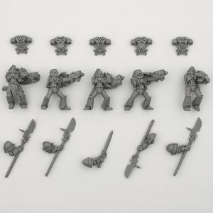 Grey Knights in Power Armor 2005