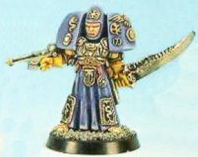 Ordo Maleus Inquisitor with Psi-Cannon and Force Sword 1989