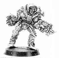 Rogue Trader Inquisitor with Glove and Combi-Weapon 1989