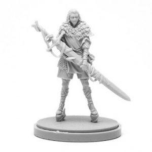 Black Knight Squire (Female)