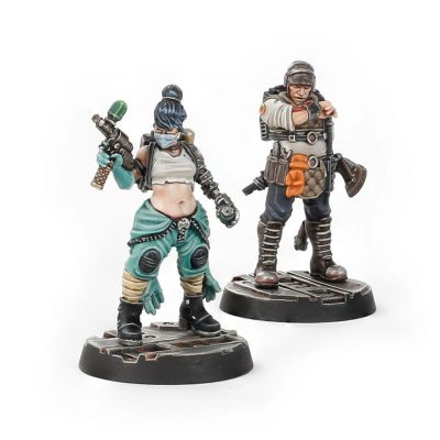 Rogue Doc and Gang Look-out
