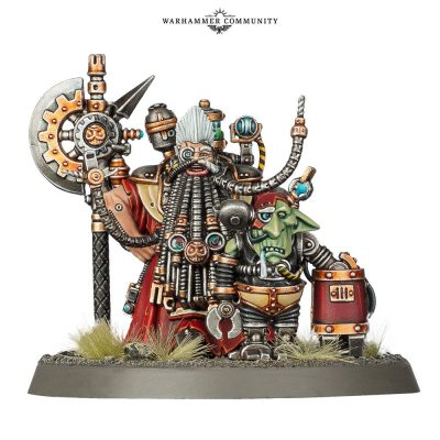 Tech-Priest Grombrindal (White Dwarf 2019 Limited Edition)