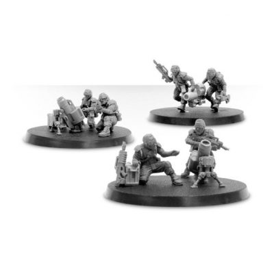 Elysian Mortar Squad