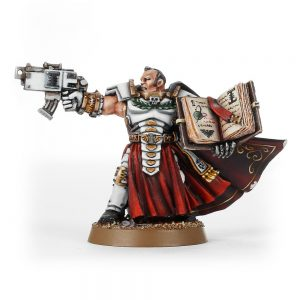 Inquisitor Daemonhunter with Bolt Pistol and Book