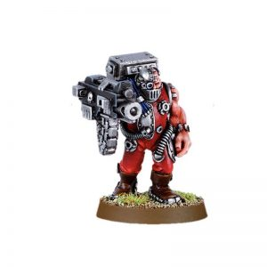 Servitor with Heavy Bolter