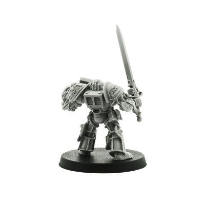 Grey Knight Terminator with Psycannon